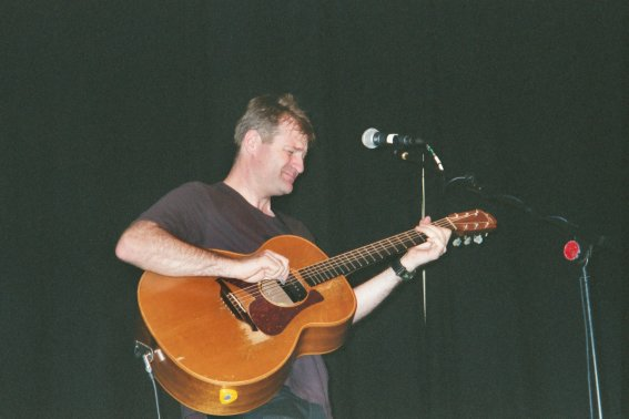 Nick at Edinburgh Fringe Festival, Sunday 12 August 2001